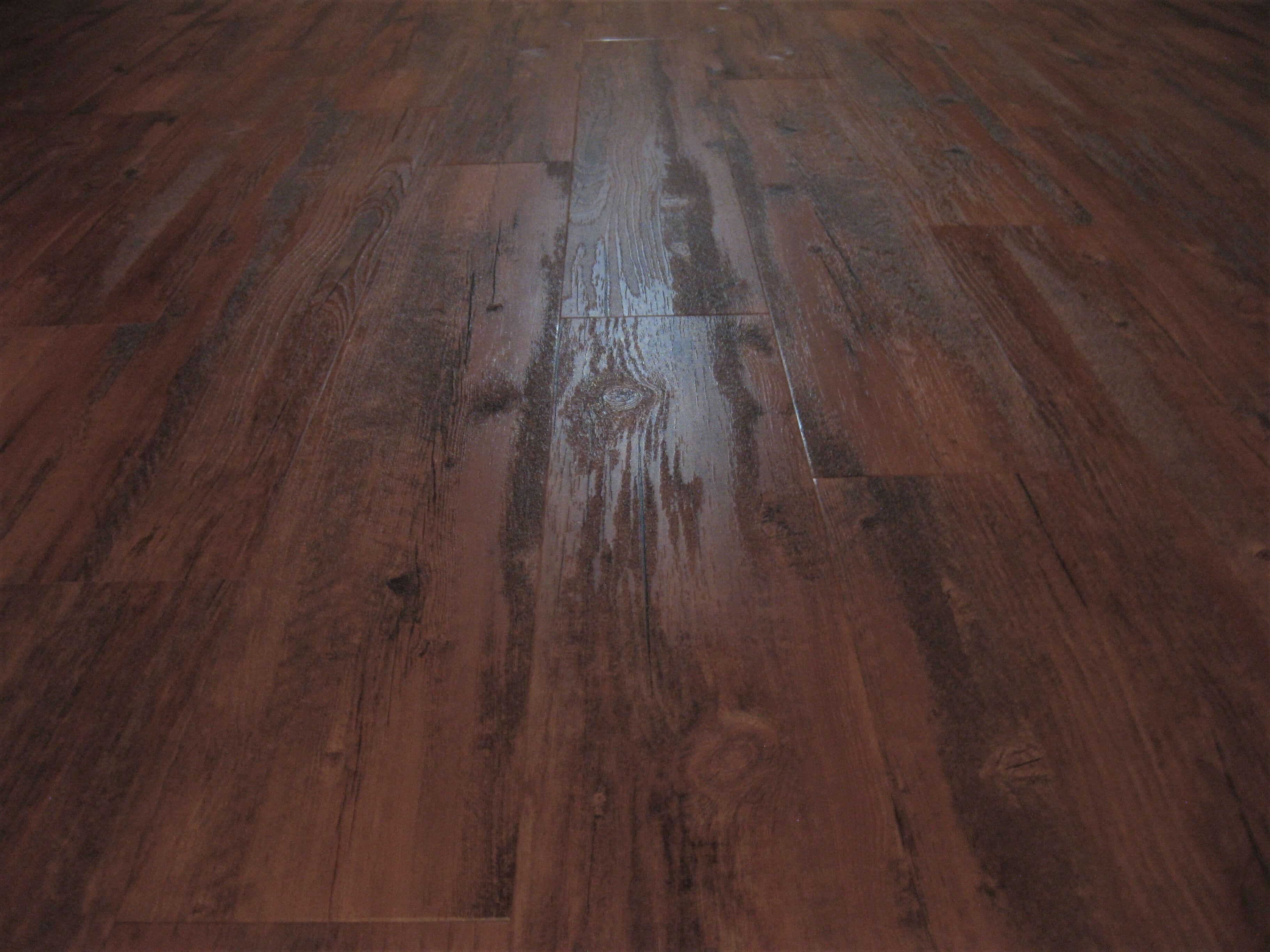 Vusta LVT flooring