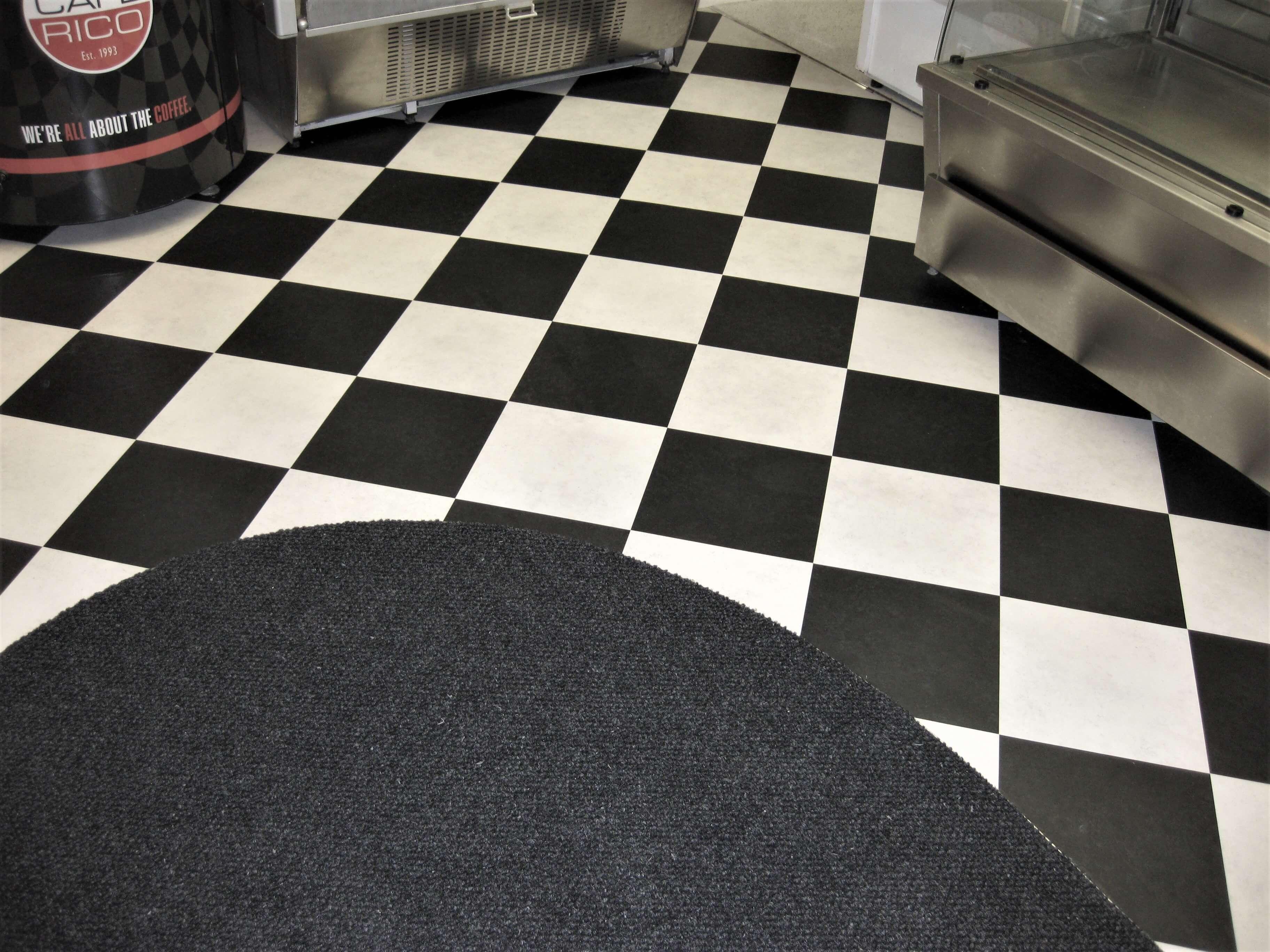 Commercial shop flooring