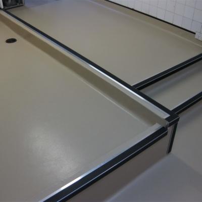 Safety flooring Prep area