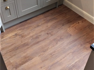 Distinctive LVT flooring
