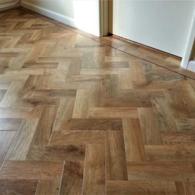 Karndean parquet flooring