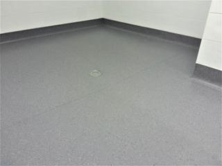 Altro shower room flooring