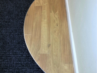 Entrance mat and Karndean feature