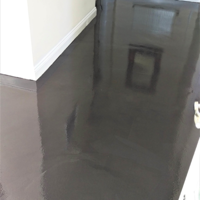 Damp proof resin epoxy treatment
