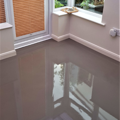Sub floor smoothing and levelling