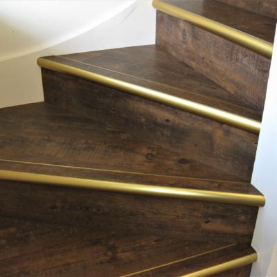 LVT Stair case