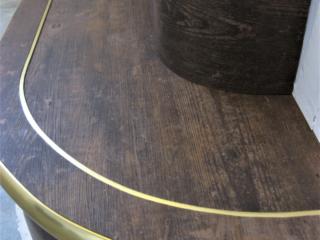 Brass effect Nosing and Karndean LVT
