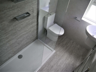 LVT Wall and Floor Tiling
